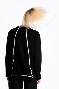 Delta T-Shirt-Sweater, Tops-valmizar-pu·rist