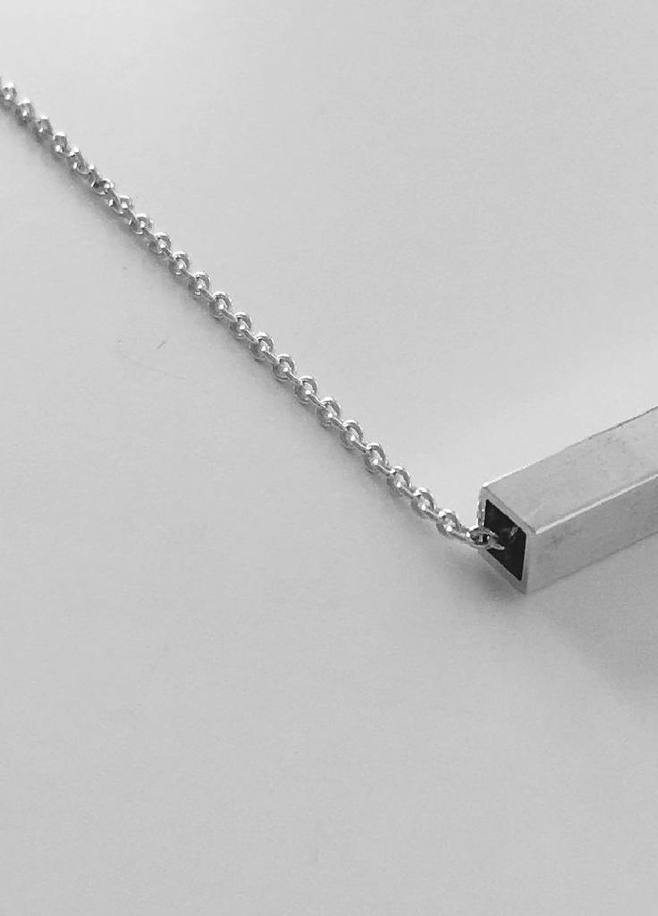 long square short necklace from J.anne curated by pu·rist