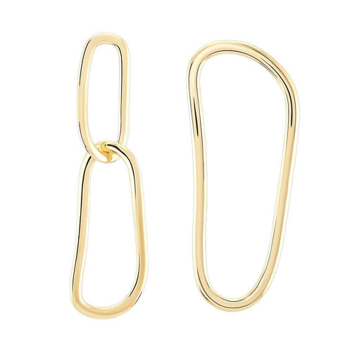 Open Fingerprint Earrings Earrings from Wonther curated by pu·rist