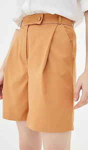 Orange Breeches-shorts-IRÁRO-pu·rist