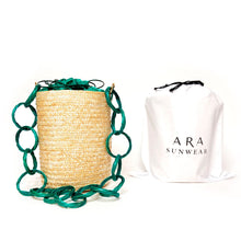 Load image into Gallery viewer, Emerald Mint Bucket-bags-ara-pu·rist