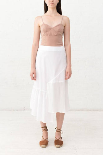 PATCH PLEATS SKIRT-skirt-DONNA ZHONG-Ivory-XS-pu·rist