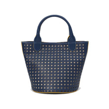 Load image into Gallery viewer, Hillside Bucket Tote Navy-bags-Jeff Wan-Navy-pu·rist