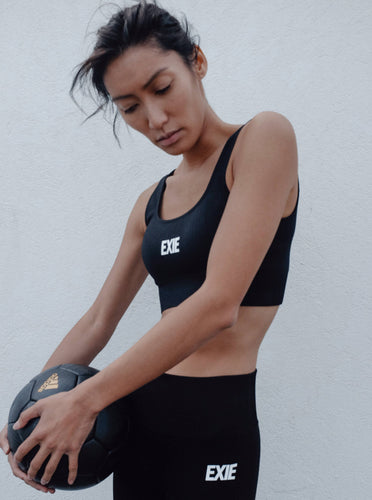 FLEX TOP - BLACK TOPS from EXIE curated by pu·rist