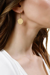 Anouska (Gold)-18ct Gold Plated Vermeil Earrings-Sia Shafer-pu·rist