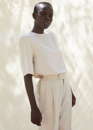 AMELIA CUPRO-VISCOSE BLOUSE blouses from SHASH curated by pu·rist