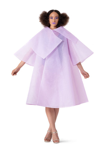 PURPLE PRINCESS TULLE CAPE - pu·rist
