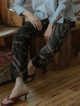 Load image into Gallery viewer, DARK FOREST RUCH SWEATPANTS-WOODROSE-pu·rist