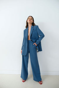 Blue Pants PANTS from IRÁRO curated by pu·rist