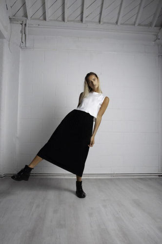 PLEATED SKIRT SKIRTS from STASA curated by pu·rist