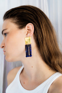 Hundred Beads earrings Earrings from Little Wonder curated by pu·rist