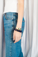 Load image into Gallery viewer, Ninety six beads cuff Bracelet from Little Wonder curated by pu·rist