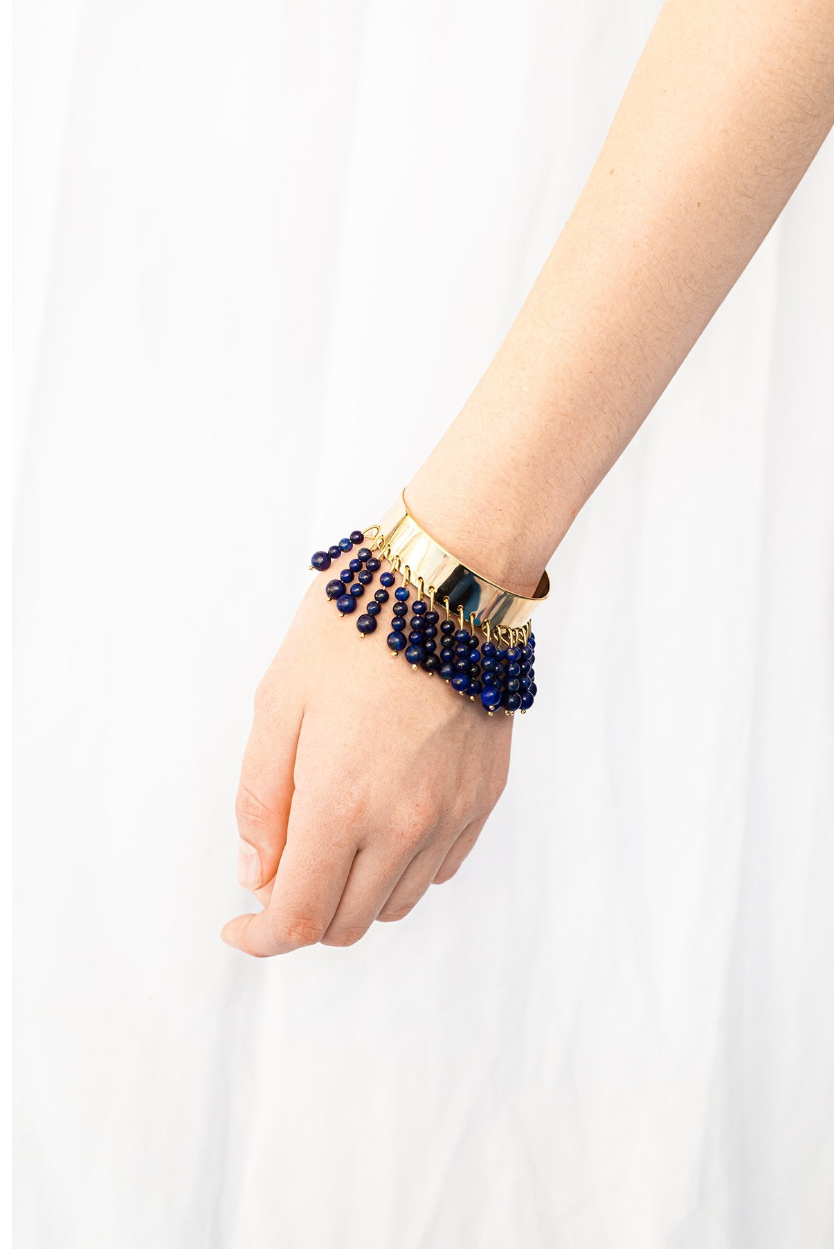 Ninety six beads cuff Bracelet from Little Wonder curated by pu·rist