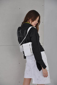 WHITE BELT BAG-bags-Daniela Barros-pu·rist