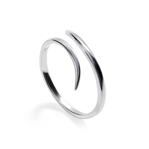 Villanelle (Silver)-Ring-Sia Shafer-Silver (Small) Europe size 50/ UK Size L-pu·rist