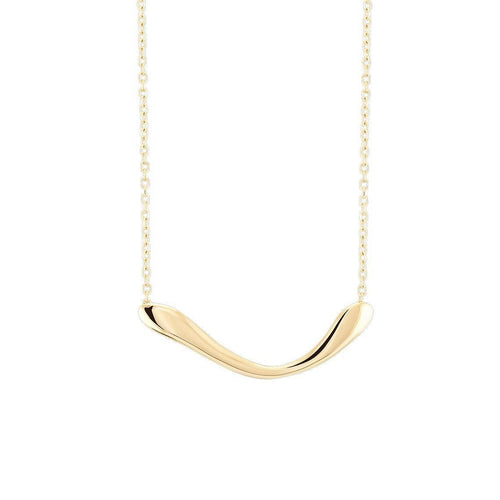 Boomerang Small Necklace Colar from Wonther curated by pu·rist