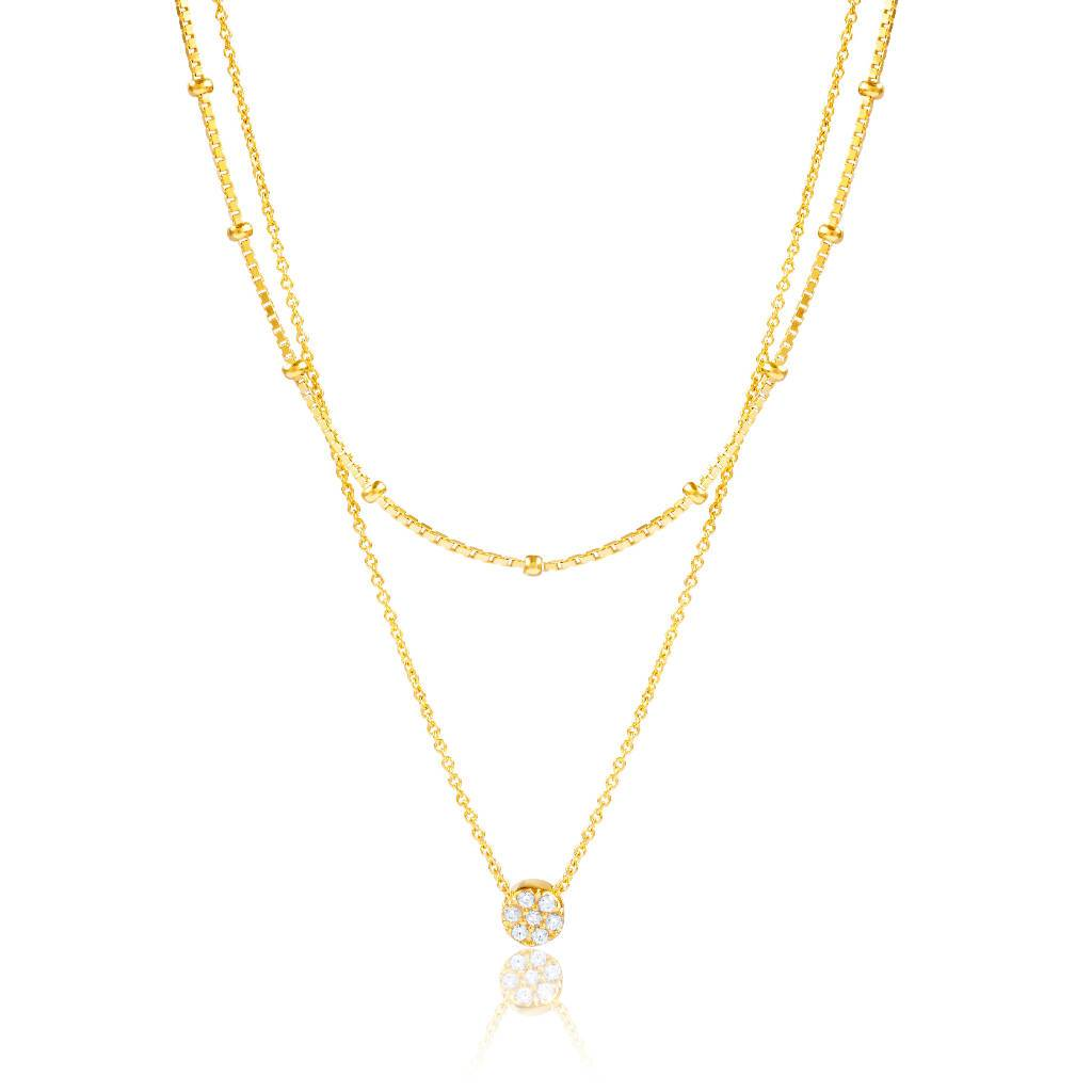 L'fee (Gold)-Necklace-Sia Shafer-Gold-pu·rist