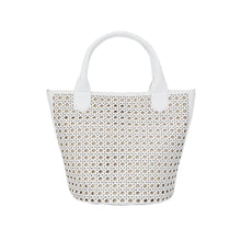 Load image into Gallery viewer, Hillside Bucket Tote Blan-bags-Jeff Wan-White-pu·rist