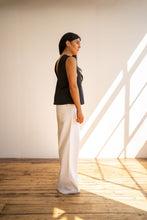 Load image into Gallery viewer, DEEP V NECK TOP Tops from Hayley McSporran curated by pu·rist