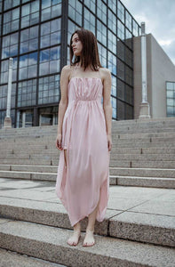 RoseAsym Long Dress III-Ja by Jelena Aleksic-S-pu·rist