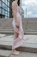 Load image into Gallery viewer, RoseAsym Long Dress III-Ja by Jelena Aleksic-S-pu·rist