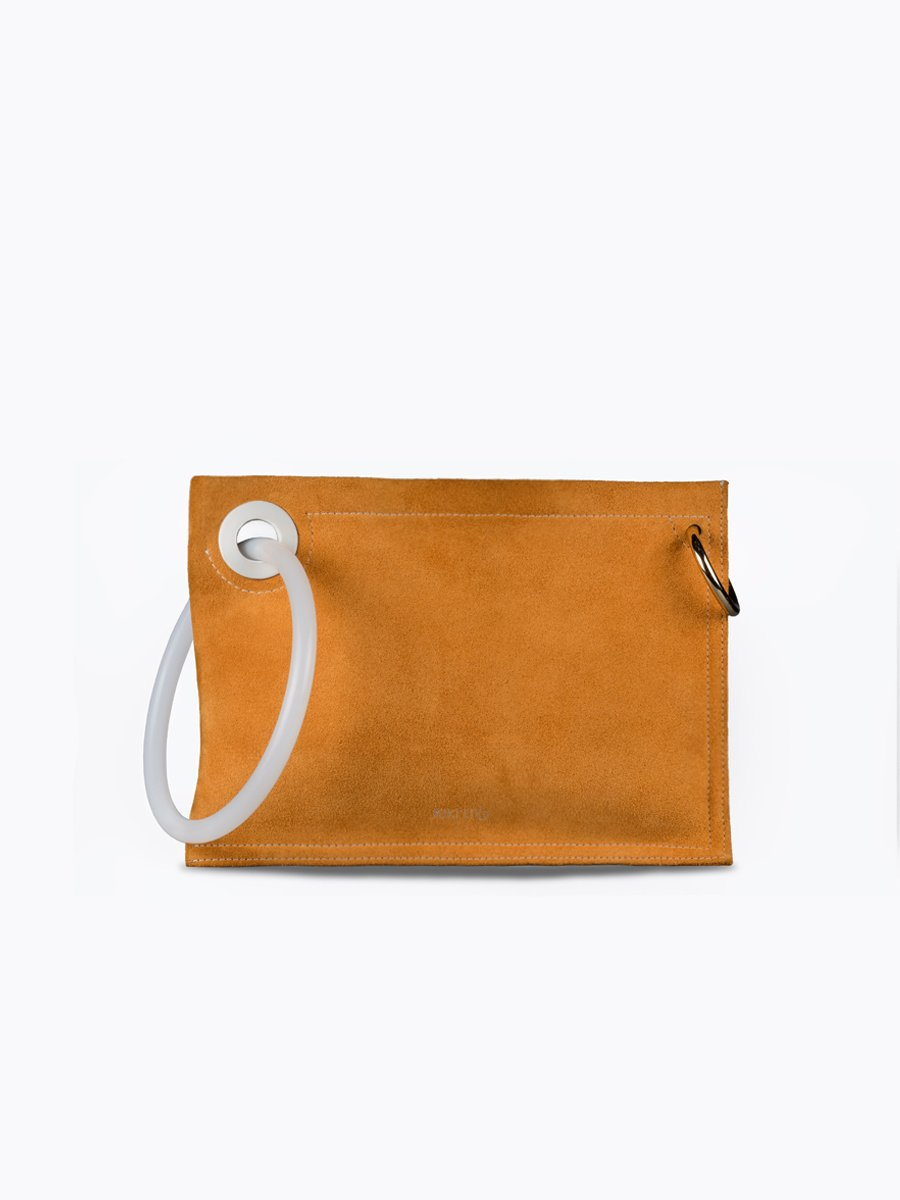 LINK MUSTARD YELLOW bags from KIKIITO curated by pu·rist