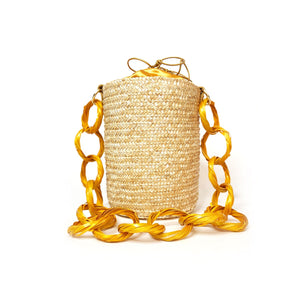 Golden Lemon Bucket-bags-ara-pu·rist