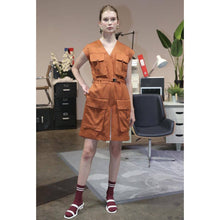Load image into Gallery viewer, Feminine Utility Playsuit-Playsuit-Charlotte Ng Studio-pu·rist