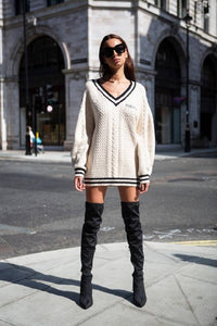 The Classic Knit Jumper Dress-Dresses-Blackburd-pu·rist