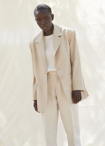 PINA WOOL JACKET BLAZERS from SHASH curated by pu·rist