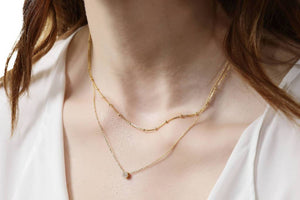 L'fee (Gold)-Necklace-Sia Shafer-pu·rist