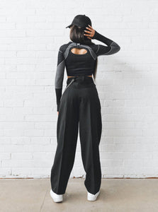 VIPER 2.0 TOP - BLACK TOPS from EXIE curated by pu·rist