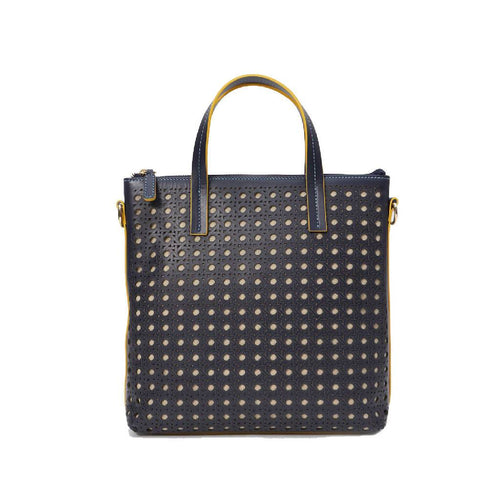 Hillside Crossbody Tote Navy-bags-Jeff Wan-Navy-pu·rist