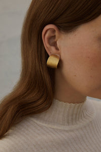 Half Hoops earrings-Earrings-MOLD ATELIER-pu·rist
