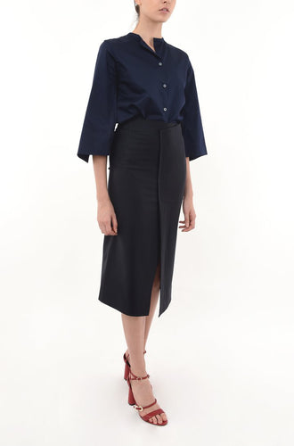 ONE SEAM PENCIL SKIRT skirts from akinn curated by pu·rist