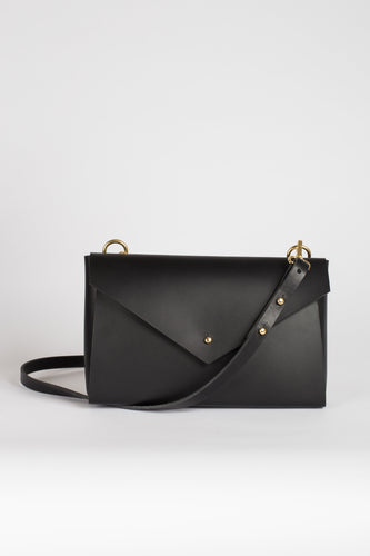 Lena Crossbody Black | MADE TO ORDER bags from Scilla curated by pu·rist