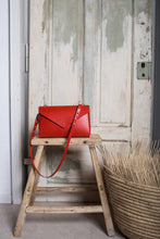 Load image into Gallery viewer, Lena Crossbody Red | MADE TO ORDER bags from Scilla curated by pu·rist