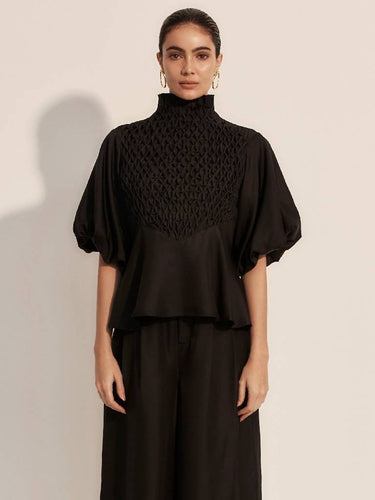 The Couru Blouse - Moonless-Blouse-L'ETE FEMME-pu·rist