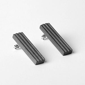 Blok — 50 Dark Earrings-Earrings-MORF-One size-pu·rist