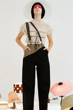 Load image into Gallery viewer, Plaid and Black Slacks | Pre order-pants-Natta-pu·rist