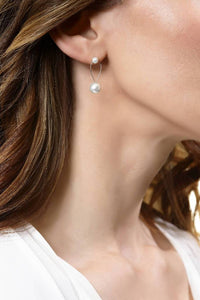 Elie-Pearl Earrings-Sia Shafer-Silver-pu·rist