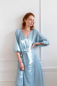 TANYA DRESS | BABY BLUE Dresses from Monica Nera curated by pu·rist