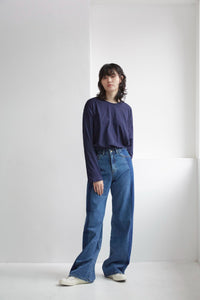 EVORA DENIM PANTS Pants from TEXTURE ZERO curated by pu·rist