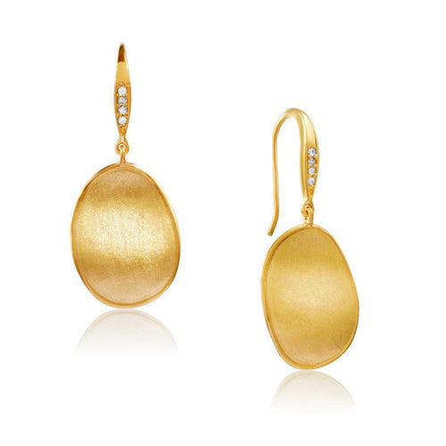 Yellow Poetry (Gold)-Earrings-Sia Shafer-Gold-pu·rist