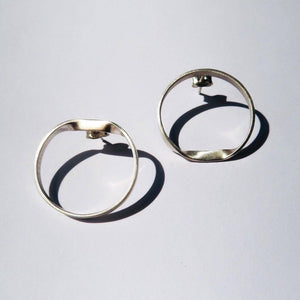 Roundturn earrings from J.anne curated by pu·rist
