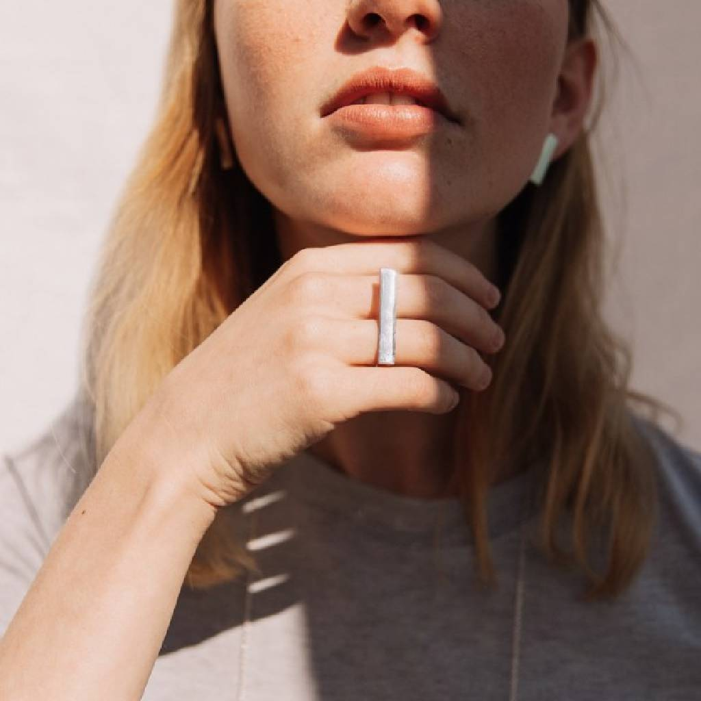 twofingersstripe rings from J.anne curated by pu·rist