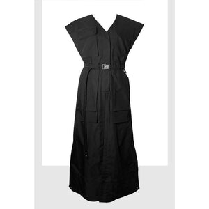 Utility Pant-like Dress-Dress-Charlotte Ng Studio-S-Black-pu·rist