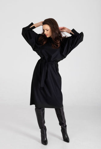 AIDA DRESS | BLACK Dresses from Monica Nera curated by pu·rist
