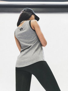ALI TANK - GREY MARLE TOPS from EXIE curated by pu·rist