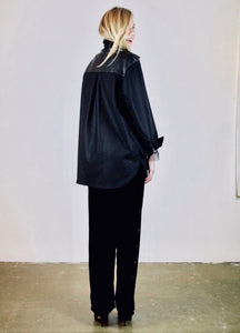 Oversized shirt 'Axl' wool